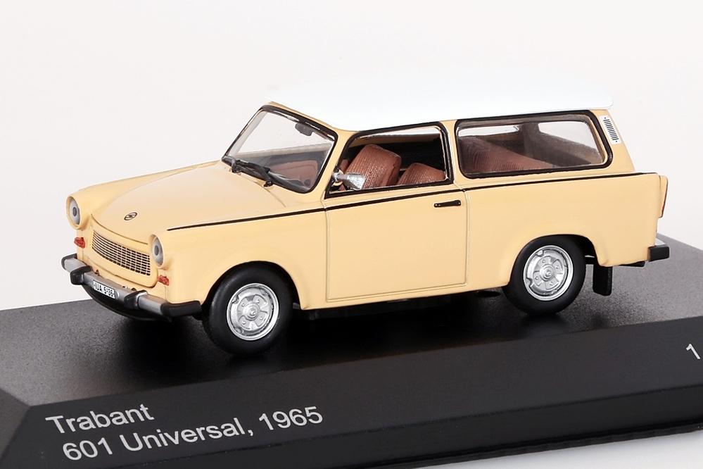 Trabant 601 Universal dunkelbeige/weiss 1965 – Bild 1