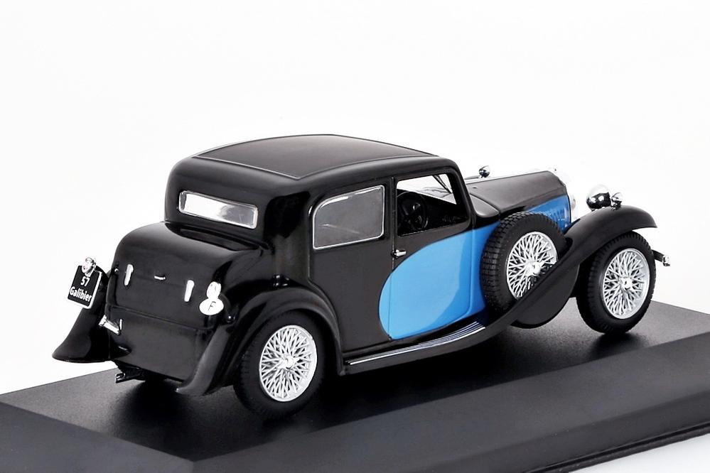Bugatti T57 Galibier blau/schwarz – Bild 2