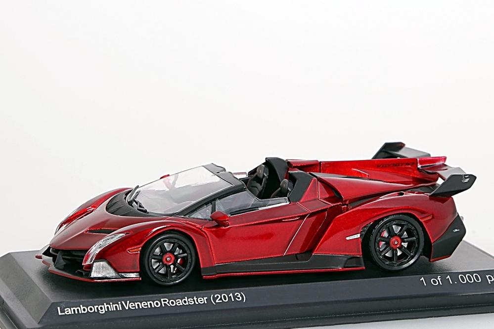 Lamborghini Veneno Poadster rot metallic – Bild 1