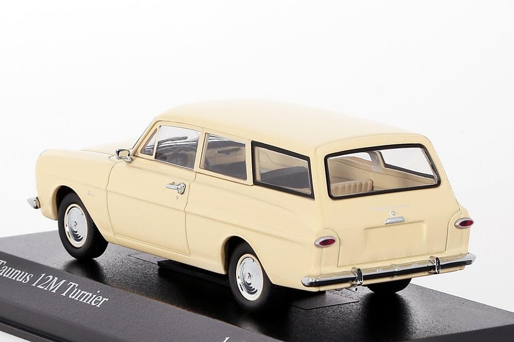 Ford Taunus 12M 1962 creme – Bild 2