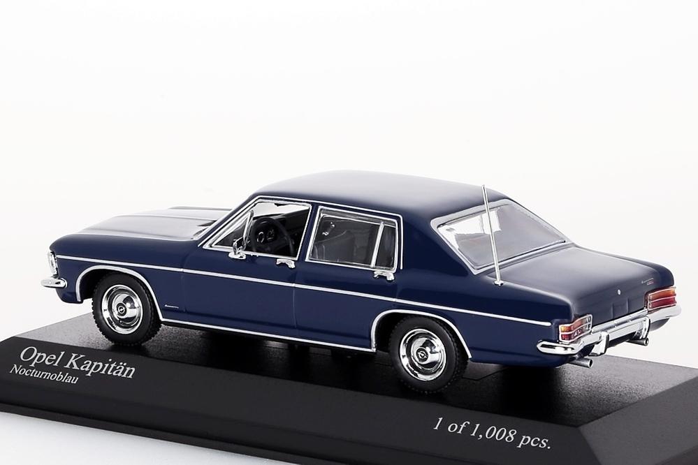 Opel Kapitän 1969 blau – Bild 4