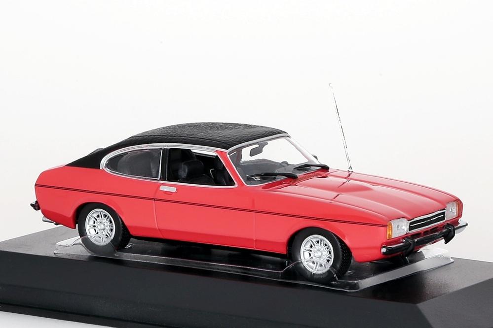 Ford Capri II 1974 rot/Lederdach – Bild 5