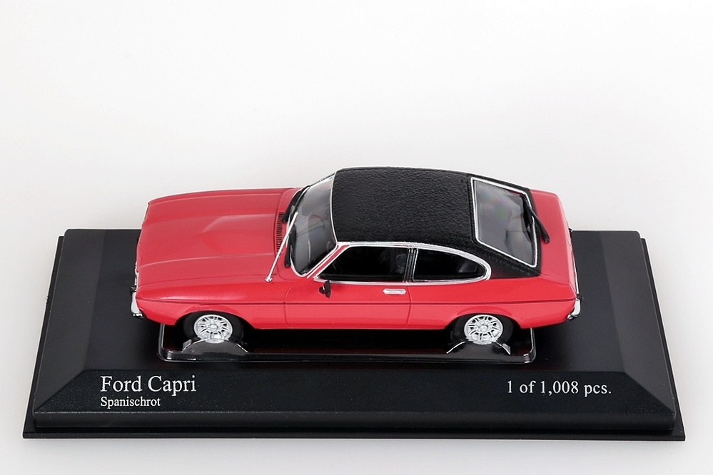 Ford Capri II 1974 rot/Lederdach – Bild 3