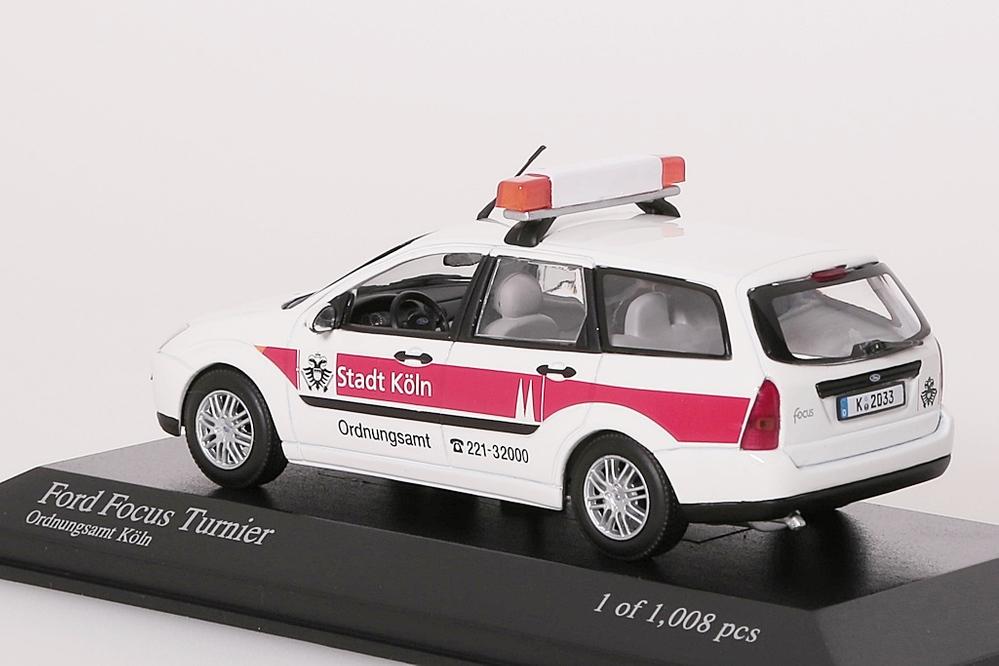 Ford Focus Tunier weiss 1999 weiss Ordnungsamt Köln – Bild 2