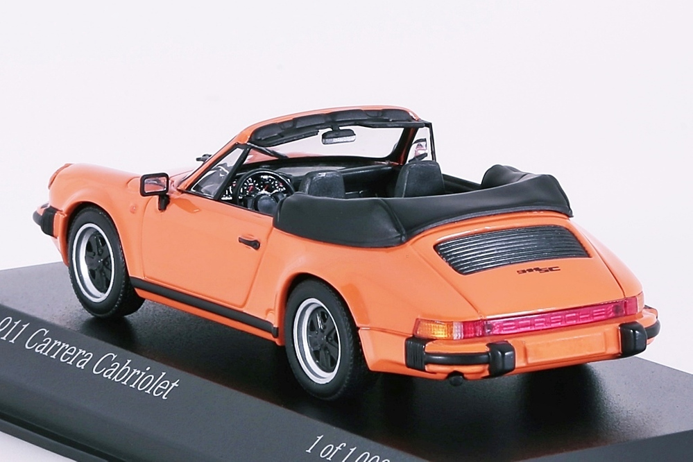 Porsche 911 Carrera Cabriolet 1983 orange – Bild 2