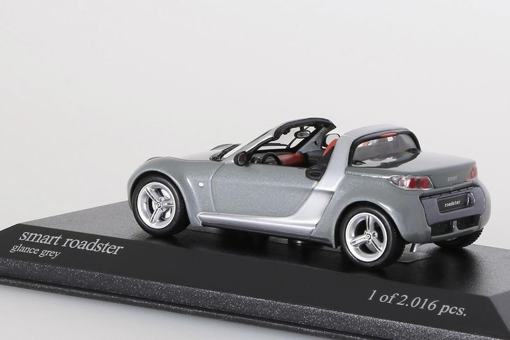 Smart Roadster 2003 grau metallic – Bild 2