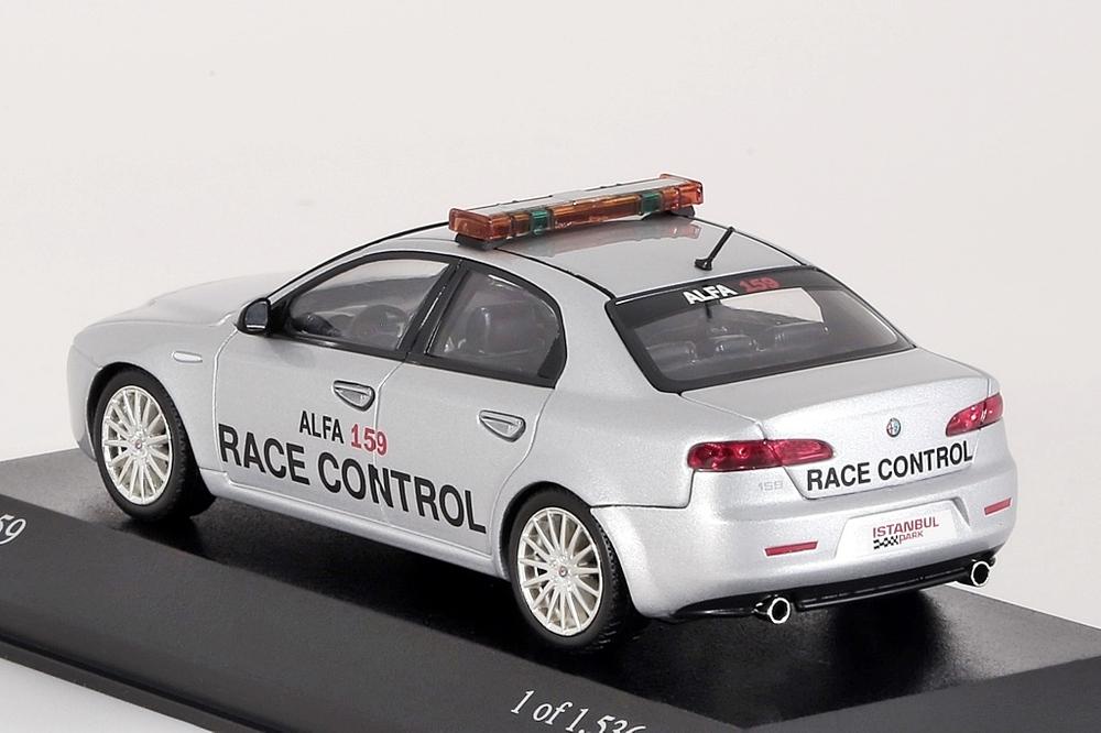 Alfa Romeo 159, 2006 Race Control silbergrau – Bild 2