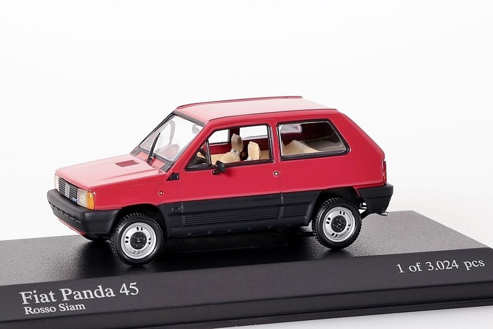 Fiat Panda 45, 1980 rot – Bild 1