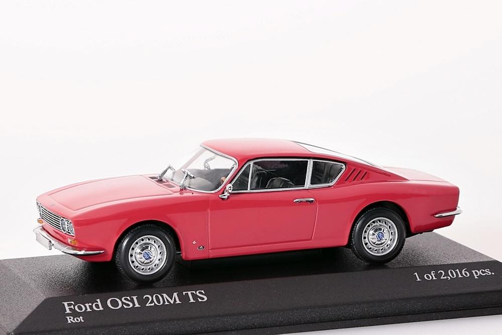 Ford OSI 20M TS 1967 rot – Bild 1
