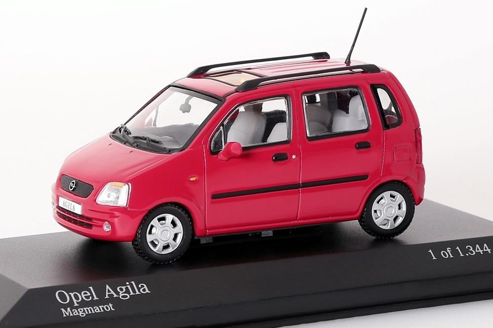 Opel Agila rot – Bild 1
