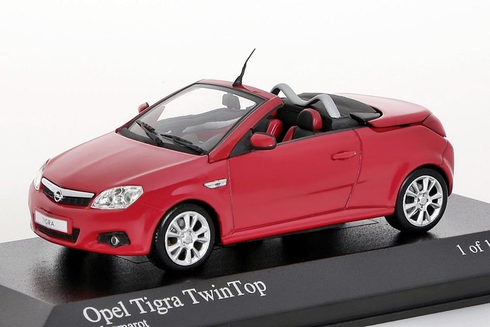 Opel Tigra Twin Top 2004 rot – Bild 1