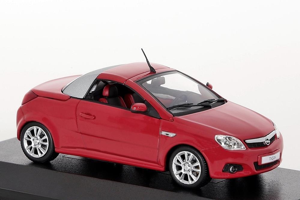 Opel Tigra Twin Top 2004 rot – Bild 4