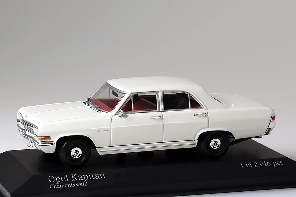 Opel Kapitän 1964 weiss – Bild 1