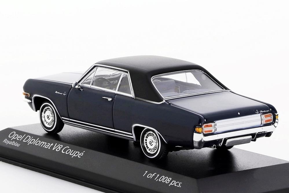 Opel Diplomat V8 Coupe 1965 dunkelblau – Bild 2