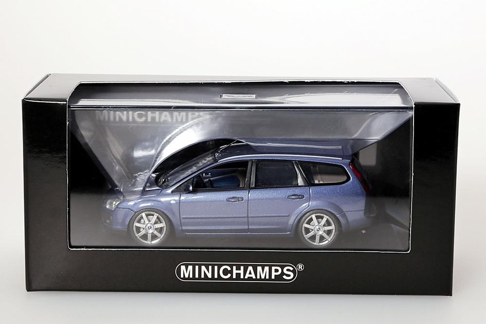Ford Focus Turnier 2005 blau metallic – Bild 4