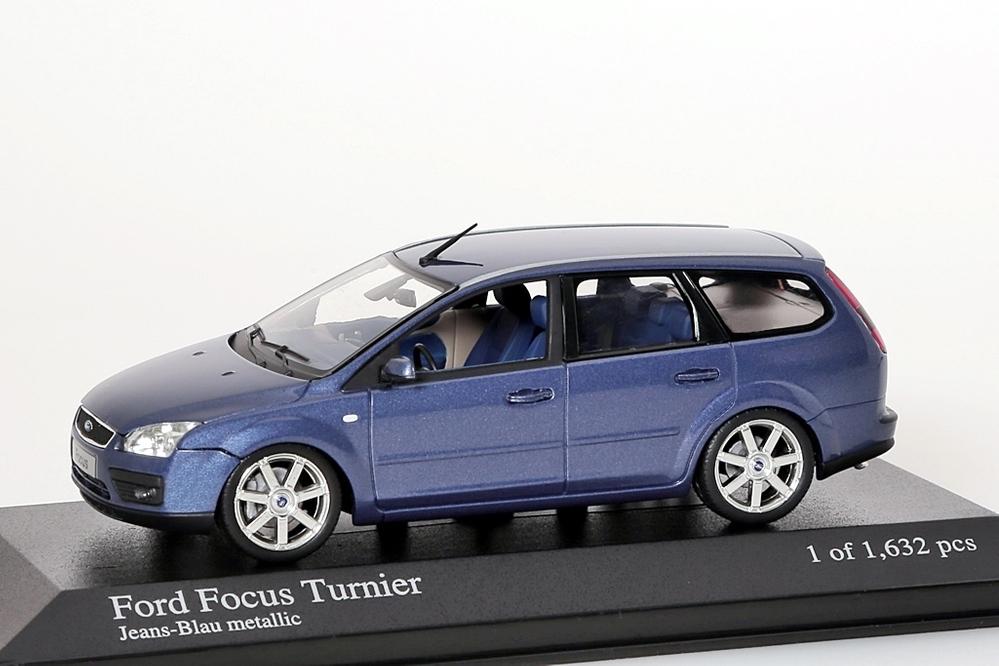 Ford Focus Turnier 2005 blau metallic – Bild 1