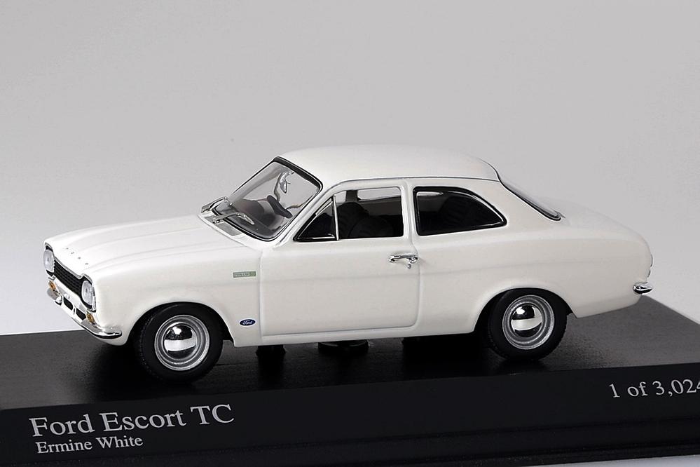 Ford Escord TC 1968 weiss – Bild 1