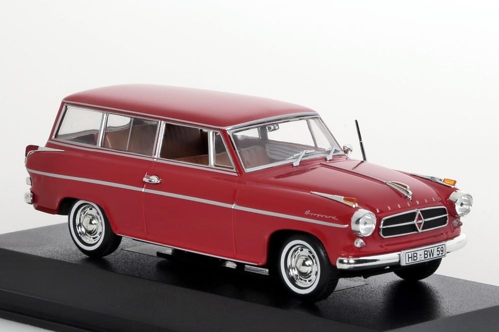 Borgward Isabella 1958 rot – Bild 4