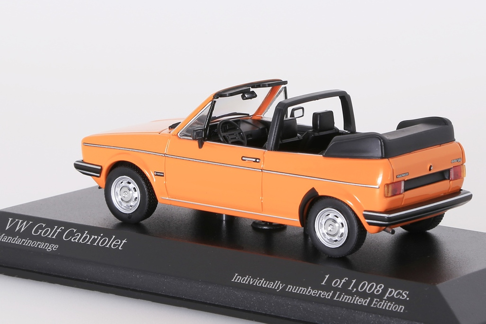 VW Golf Cabriolet 1980 orange – Bild 2