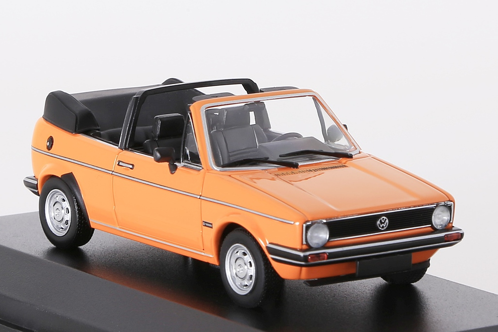 VW Golf Cabriolet 1980 orange – Bild 4