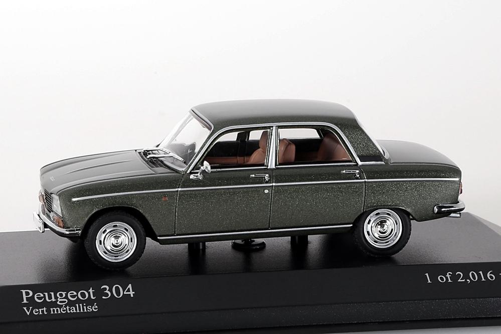Peugeot 304, 1972 grün metallic – Bild 1