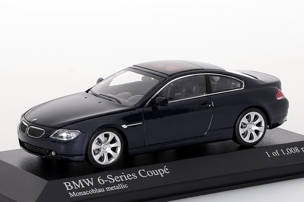 BMW 6-Series Coupe 2006 dunkelblau metallic – Bild 1