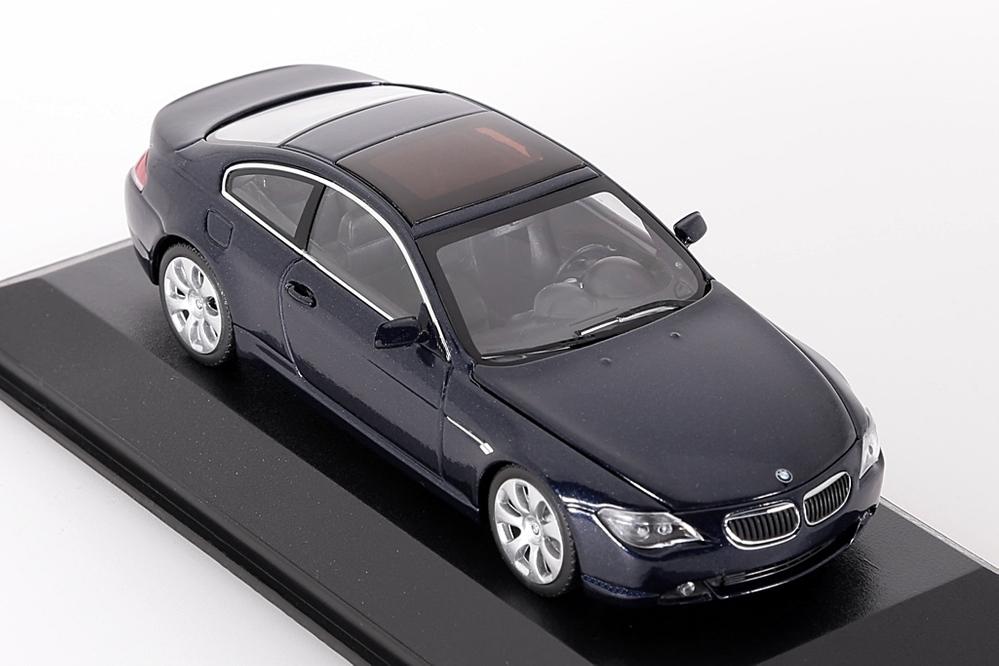 BMW 6-Series Coupe 2006 dunkelblau metallic – Bild 5