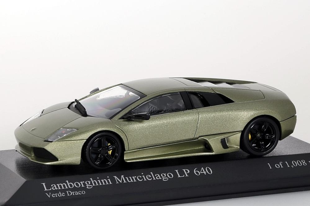 Lamborghini Murcielago LP 640 Poadster 2007 grün metallic – Bild 1