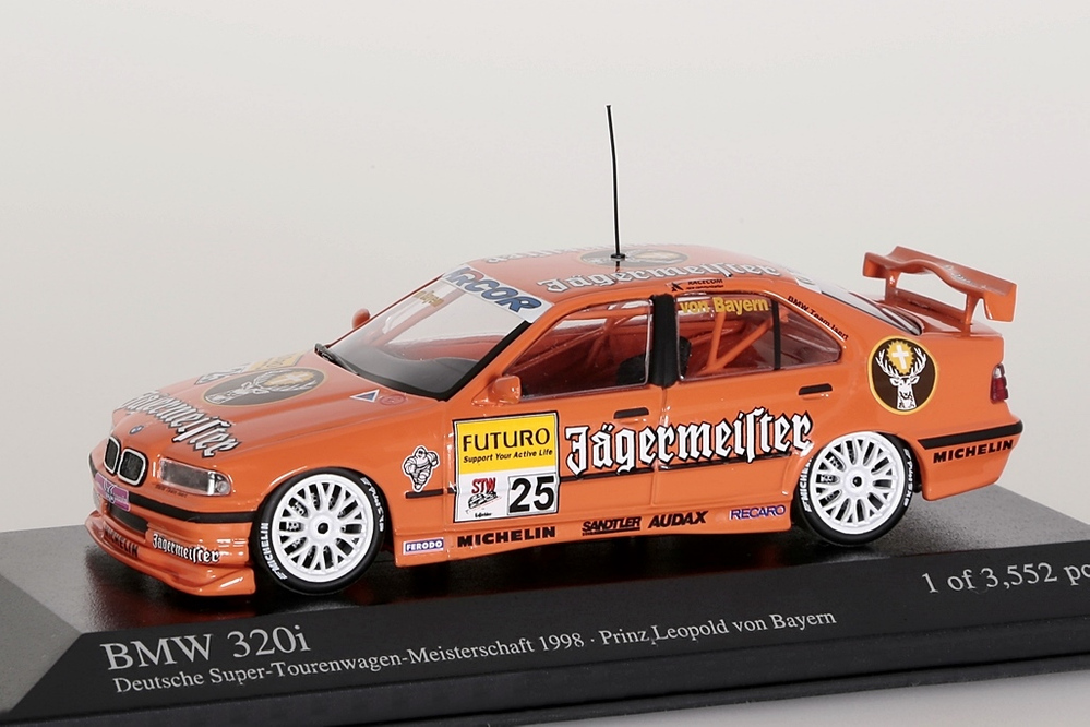 BMW 320i STW 1998 Jägermeister Team Isert, Prinz Leopold – Bild 1