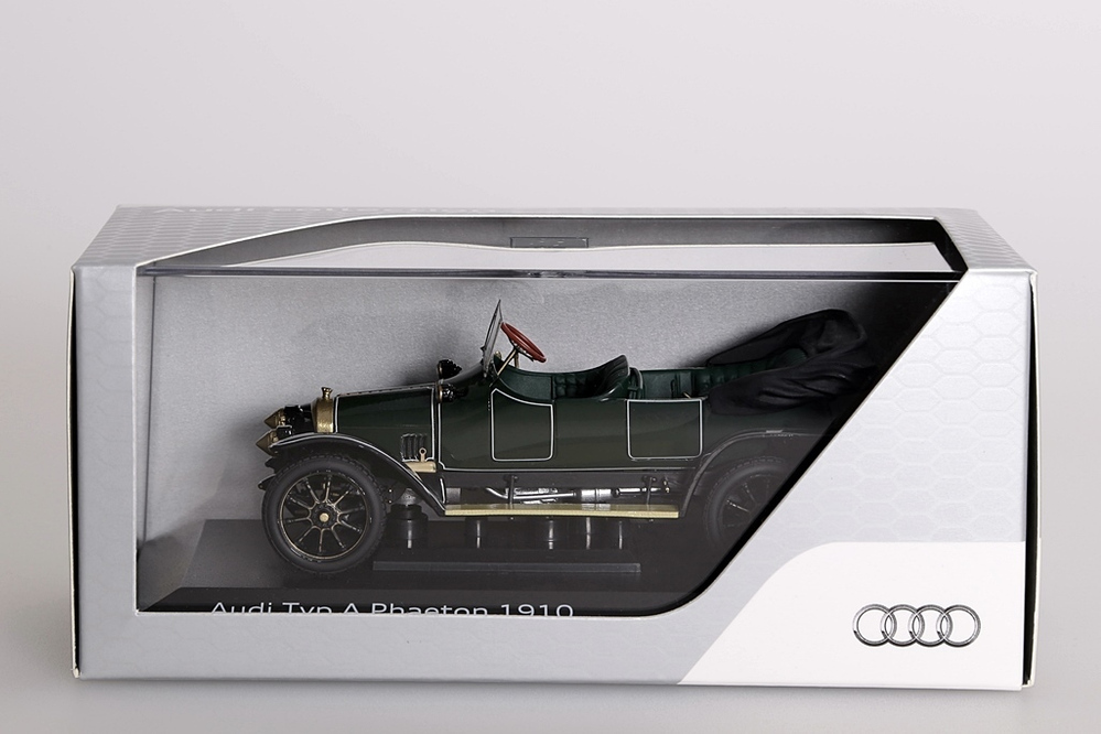 Audi Typ A Phaeton 1910 dunkelgrün Audi-Collection – Bild 9