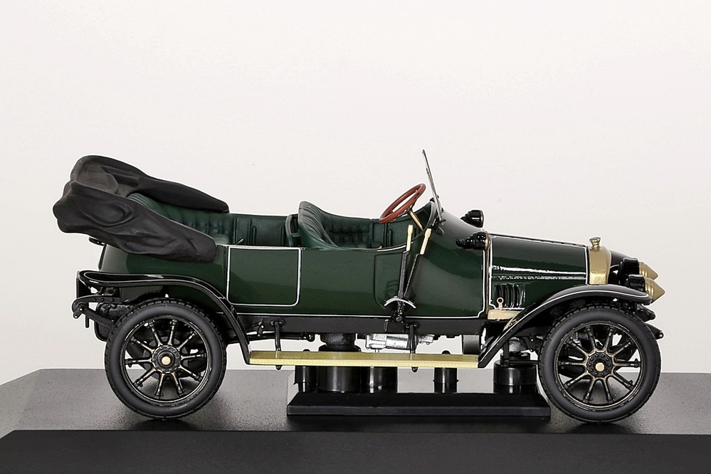 Audi Typ A Phaeton 1910 dunkelgrün Audi-Collection – Bild 7