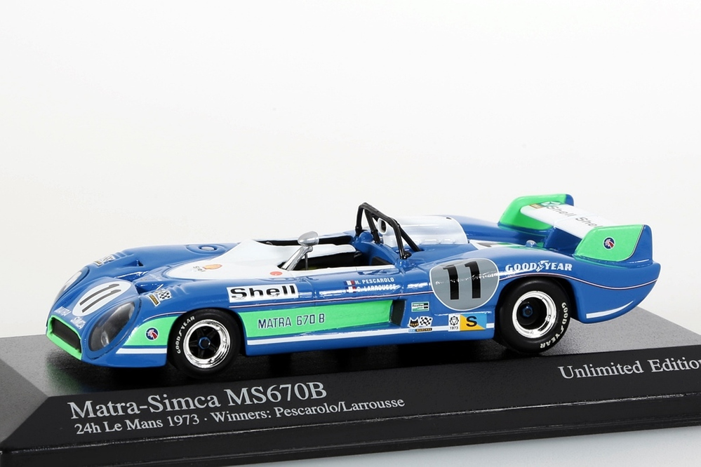 Matra-Simca MS670B 24h LeMans 1973 – Bild 1