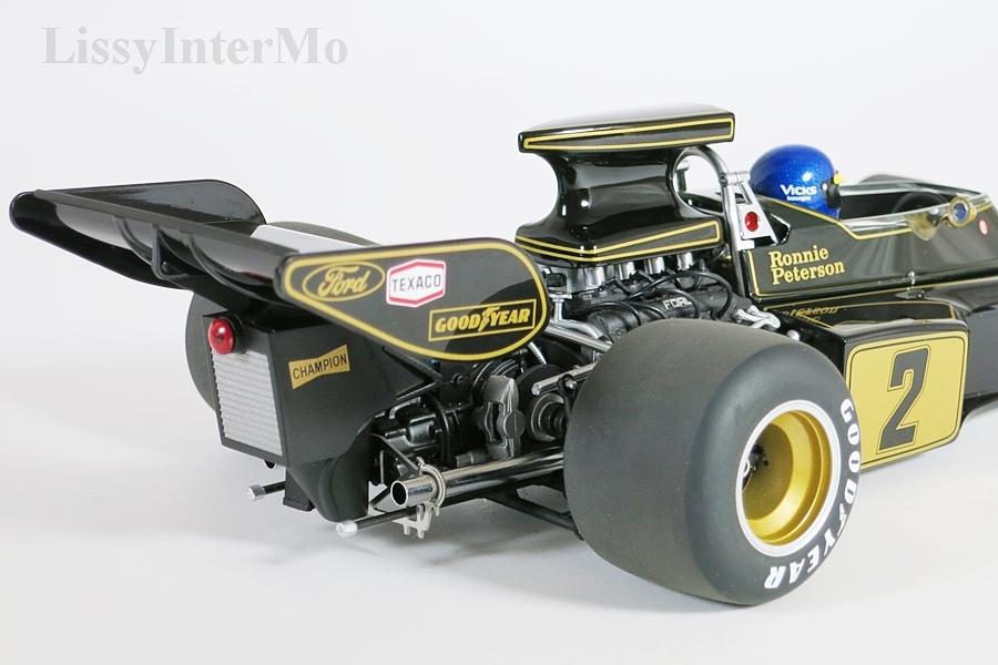 Lotus 72E 1973 Peterson #2  mit Fahrer-Figur – Bild 10