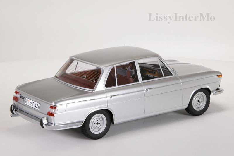 BMW 1800 Ti silber 1965 Minichamps  – Bild 6