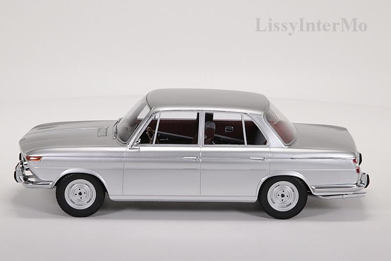 BMW 1800 Ti silber 1965 Minichamps  – Bild 3