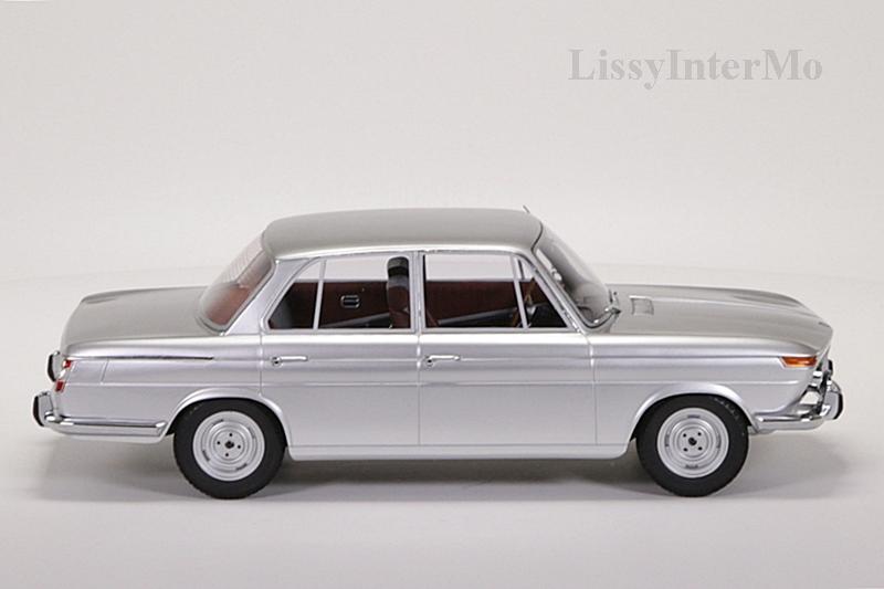 BMW 1800 Ti silber 1965 Minichamps  – Bild 7
