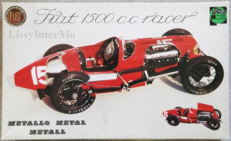 Fiat 1500.c.c. racer, vollständiger Bausatz Protar ungebaut 1:12 – Bild 1