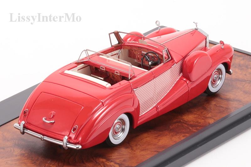 Rolls Royce Freestone & Webb 4 deurs Cabriolet 1954 – Bild 6