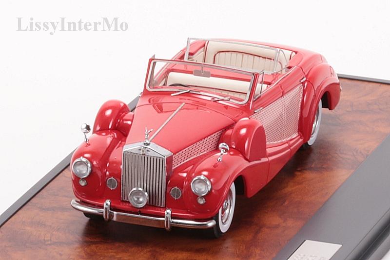 Rolls Royce Freestone & Webb 4 deurs Cabriolet 1954 – Bild 4