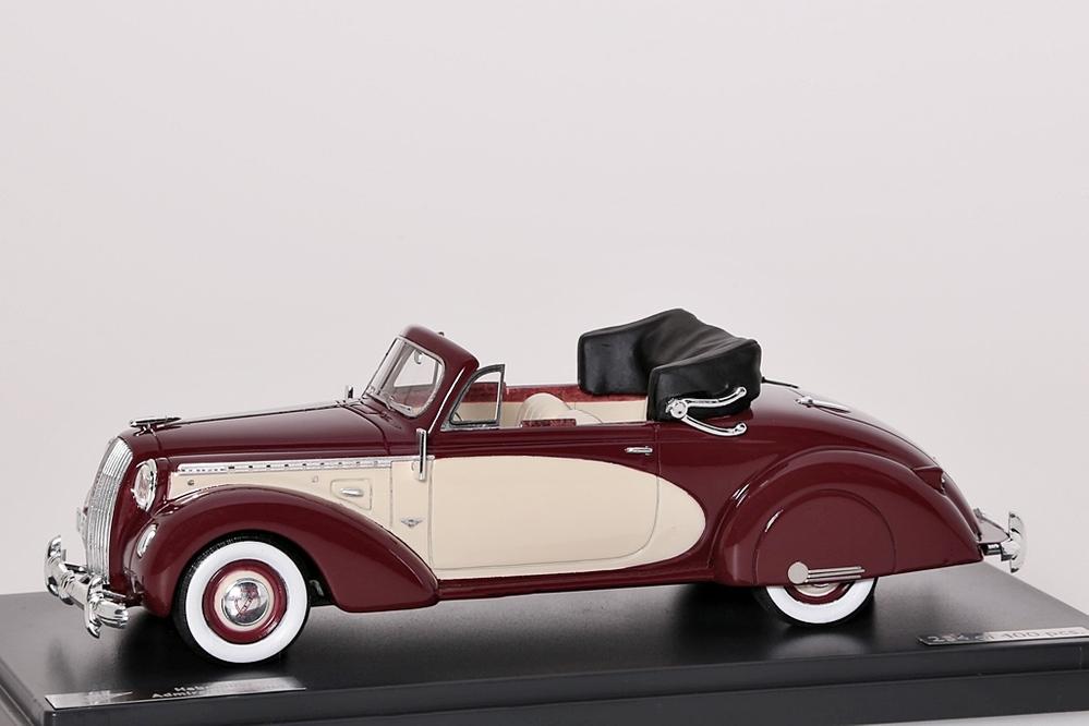 Opel Admiral Hebmuller Cabriolet 1938 – Bild 1