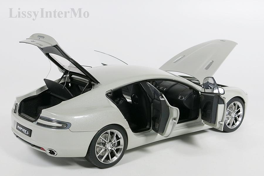 Aston Martin Rapide S 2015  silber – Bild 10