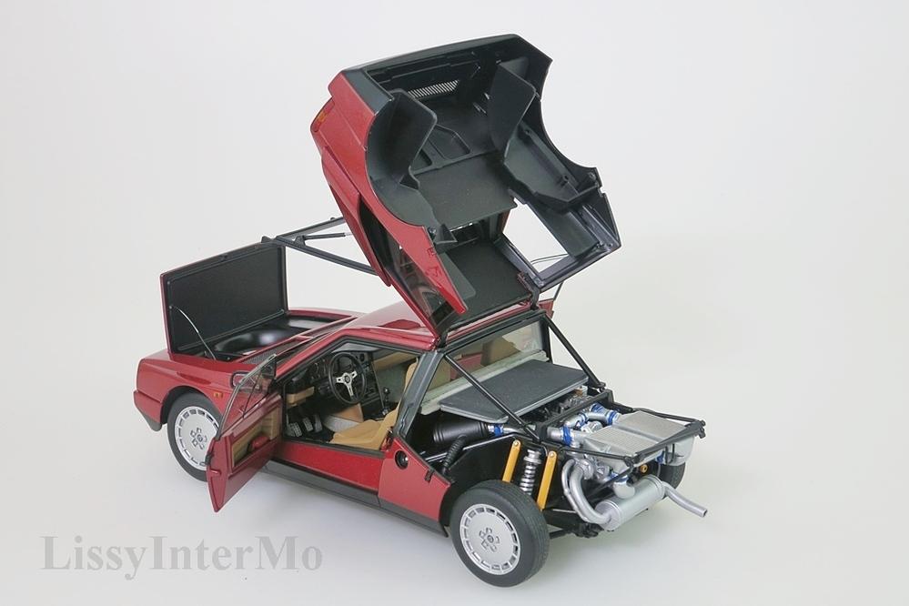 Lancia Delta S4 1985 rot  – Bild 5