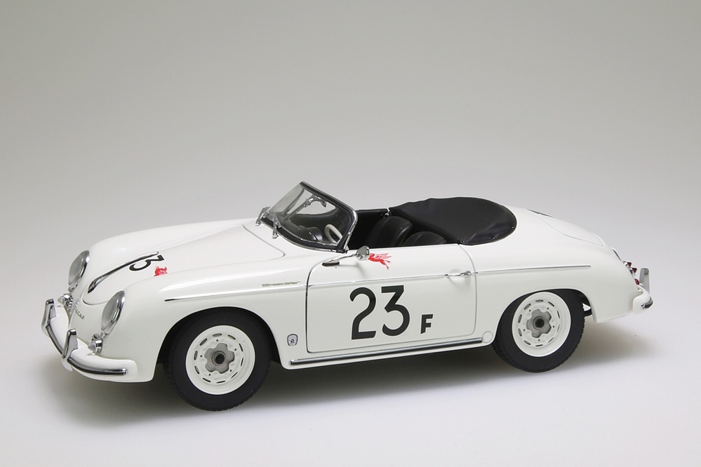 porsche 356 speedster 23f weiss autoart 1 18 neu ovp ebay. Black Bedroom Furniture Sets. Home Design Ideas