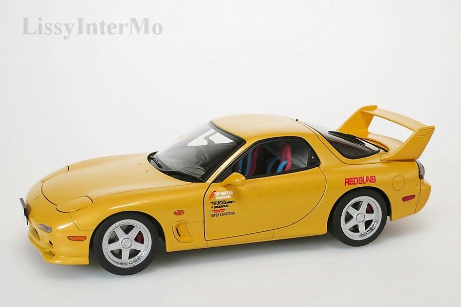 "Mazda Efini RX-7 (FD3S) new Animation Film "" INITial D"" – Bild 1"