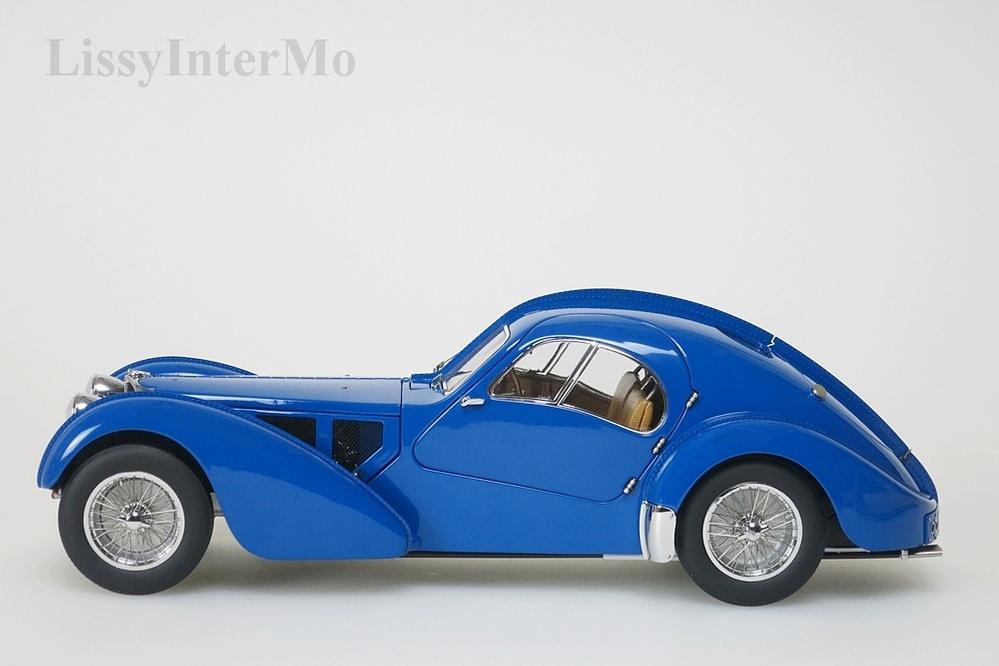 Bugatti 57S Atlantic 1938 blau  – Bild 3