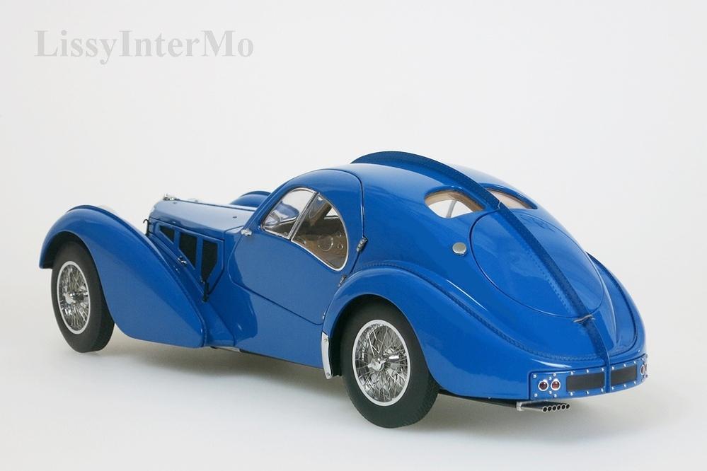 Bugatti 57S Atlantic 1938 blau  – Bild 2