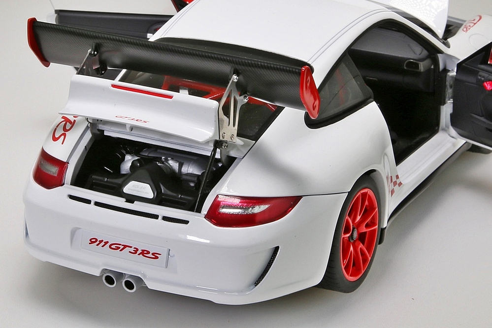 Porsche 911 (997) GT3 RS  3.8  2010  carrera white – Bild 5