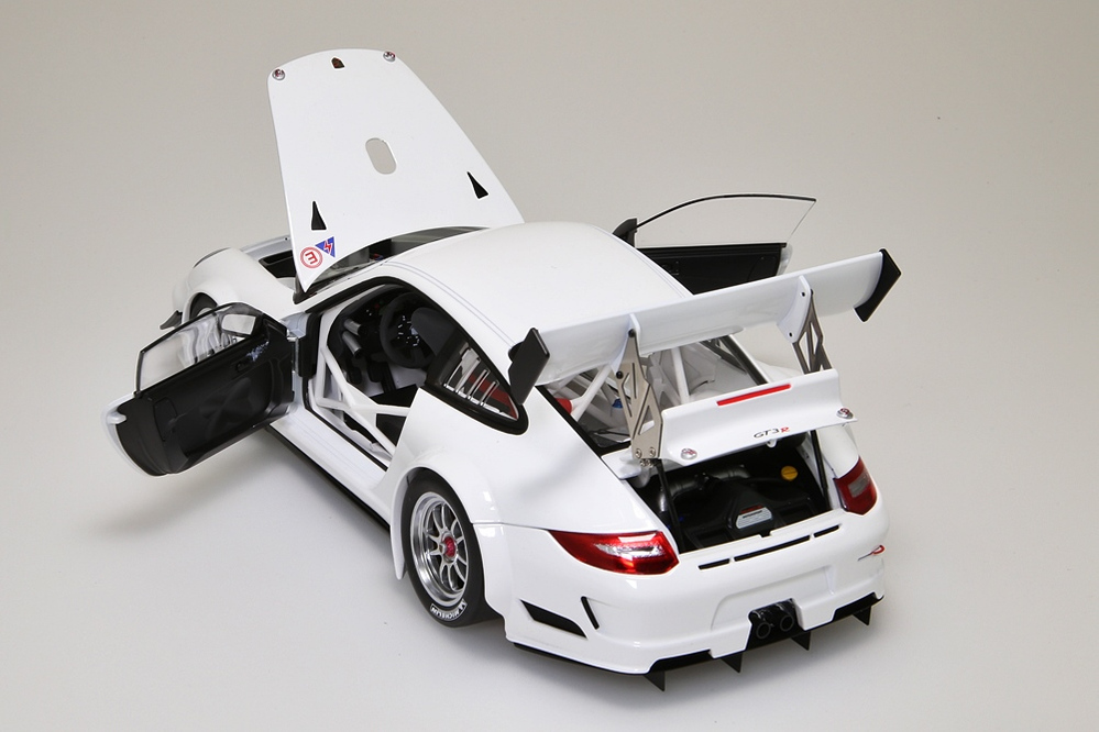Porsche 911 (997) GT3 R   2010 Plain Body Version weiss  – Bild 6