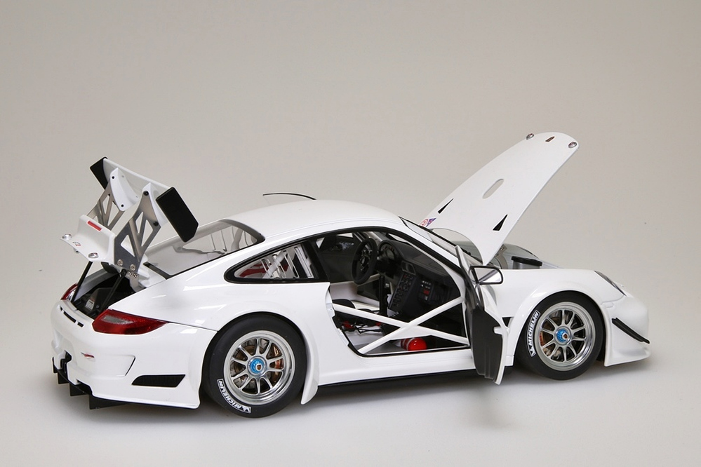 Porsche 911 (997) GT3 R   2010 Plain Body Version weiss  – Bild 10