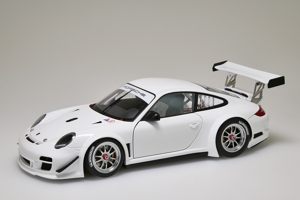 Porsche 911 (997) GT3 R   2010 Plain Body Version weiss  – Bild 1